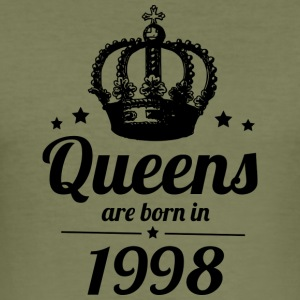 Queen 1998 - Männer Slim Fit T-Shirt