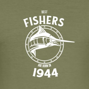 Present for fishers born in 1944 - Men's Slim Fit T-Shirt