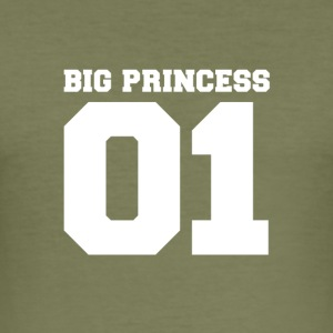 BIG PRINCESS - Slim Fit T-shirt herr