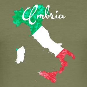 Umbria - Männer Slim Fit T-Shirt