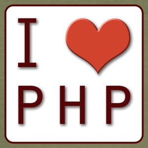 I LOVE PHP - slim fit T-shirt
