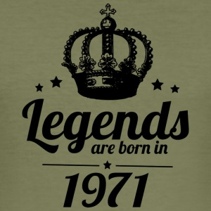 Legends 1971 - Men's Slim Fit T-Shirt