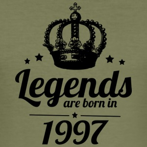 Legends 1997 - Männer Slim Fit T-Shirt