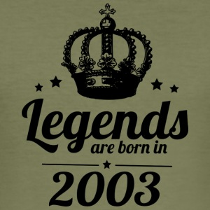 Legends 2003 - Men's Slim Fit T-Shirt