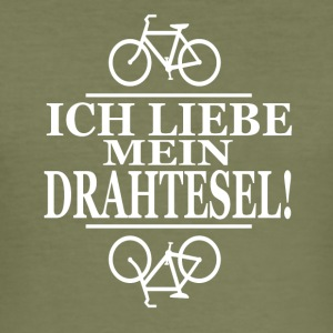 Drahtesel - Männer Slim Fit T-Shirt