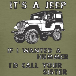 DET ER JEEP - Herre Slim Fit T-Shirt
