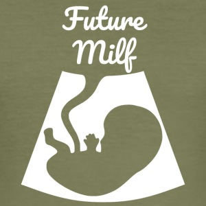 Future Milf - Slim Fit T-skjorte for menn