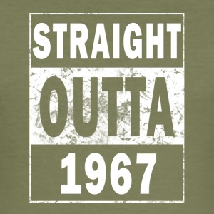 1967 - Straight outta - Men's Slim Fit T-Shirt
