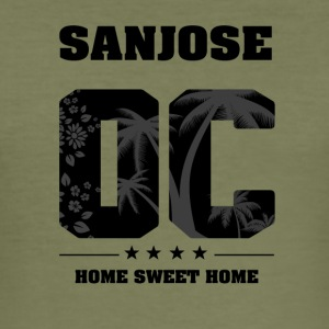 Ik hou van SAN JOSE - Orange County - slim fit T-shirt
