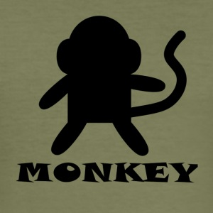 Monkey - Men's Slim Fit T-Shirt