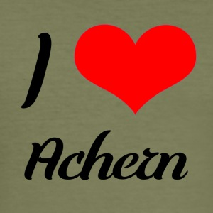 I love Achern - Männer Slim Fit T-Shirt
