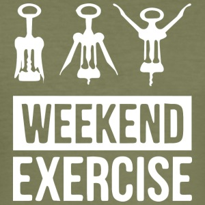 Weekend exercises - Men's Slim Fit T-Shirt