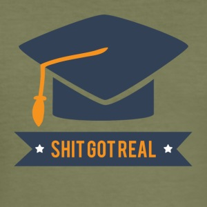 High School / Graduation: Skit Got Real - Slim Fit T-shirt herr