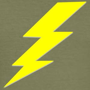 lightning - Männer Slim Fit T-Shirt