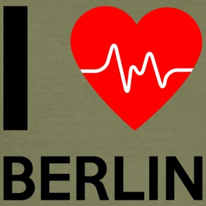 I Love Berlin - I love Berlin - Herre Slim Fit T-Shirt