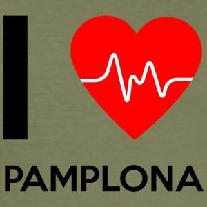 I Love Pamplona - I Love Pamplona - Slim Fit T-skjorte for menn