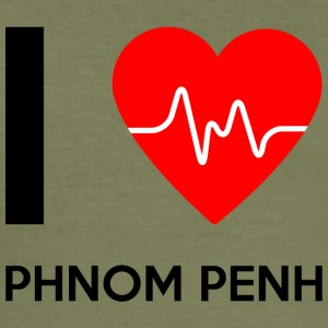 I Love Phnom Penh - I Love Phnom Penh - Herre Slim Fit T-Shirt