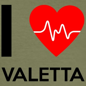I Love Namibia - I love Valetta - Men's Slim Fit T-Shirt
