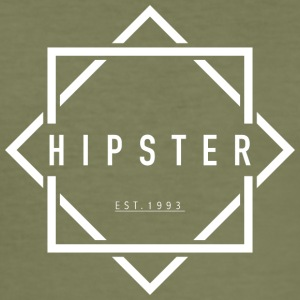HIPSTER EST. 1993 - Slim Fit T-skjorte for menn