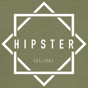 HIPSTER EST. 1991 - Slim Fit T-skjorte for menn