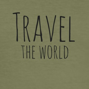 Travel the world - Men's Slim Fit T-Shirt