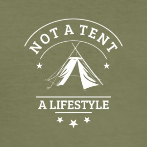 not_a_tent_wei-- - Slim Fit T-skjorte for menn