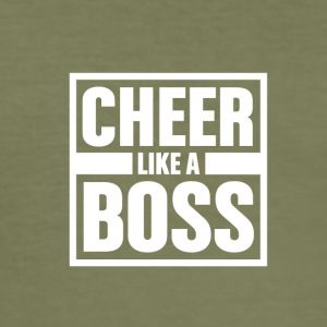 Cheer som Boss - Cheerleading - Slim Fit T-skjorte for menn