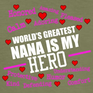 I am the world's greatest nana - Men's Slim Fit T-Shirt