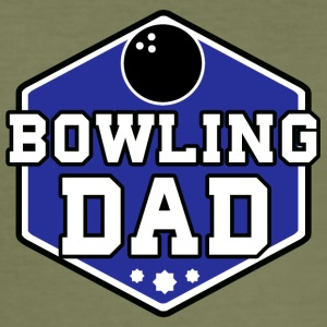 Bowling Dad - Männer Slim Fit T-Shirt