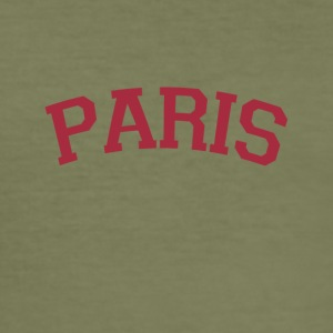 Paris er den vakreste byen! - Slim Fit T-skjorte for menn