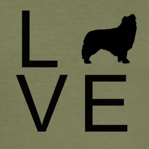 Dog Love 3 - Men's Slim Fit T-Shirt