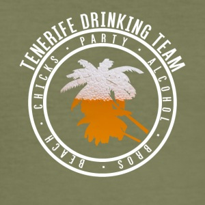 Shirt party holiday - Tenerife - Men's Slim Fit T-Shirt