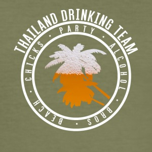 Shirt for Party vacation - Thailand - Men's Slim Fit T-Shirt