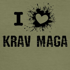 iLove Kravmaga - Men's Slim Fit T-Shirt