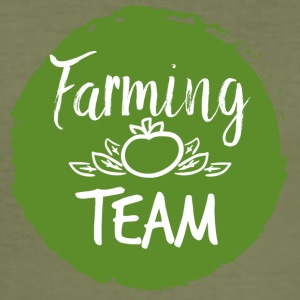 Farmer / Farmer / Bauer: Farming Team - Herre Slim Fit T-Shirt