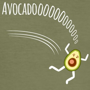 Avocadooooo - Männer Slim Fit T-Shirt