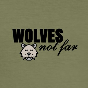 Wolves niet ver - slim fit T-shirt