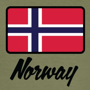 National Flag Of Norway - Men's Slim Fit T-Shirt