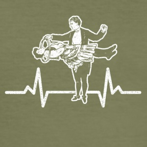 My heart beats for Magic - Men's Slim Fit T-Shirt