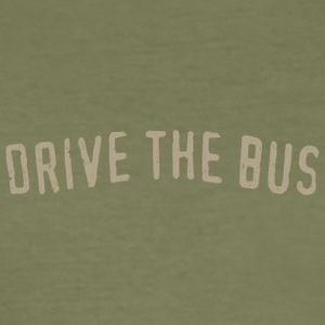 Drive the Bus - Men's Slim Fit T-Shirt