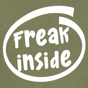 freak inside (1835B) - Men's Slim Fit T-Shirt
