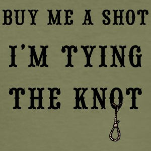 Buy Me A Shot jeg gifte - Slim Fit T-skjorte for menn