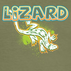 Cool tribal lizard - slim fit T-shirt