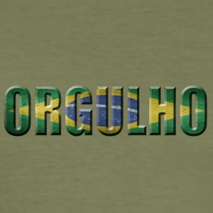 Orgulho BRAZIL BRAZIL PRIDE - Men's Slim Fit T-Shirt