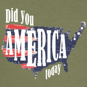 Did You America Today - Men's Slim Fit T-Shirt