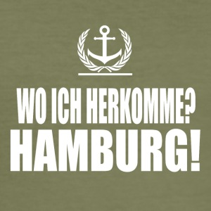 Hamburg - Men's Slim Fit T-Shirt
