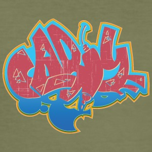 Cool street art graffiti - Men's Slim Fit T-Shirt