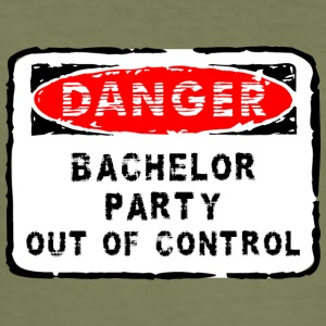 Bachelor Party Out of Control - Slim Fit T-shirt herr