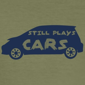 Mechanic: Still Plays Cars - Men's Slim Fit T-Shirt