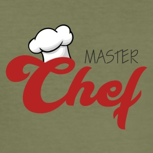 Cook / kock: Master Chef - Slim Fit T-shirt herr